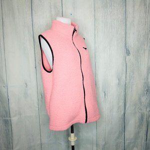 PINK Jackets & Coats - Victoria's Secret PINK, Pink Sherpa Vest Large
